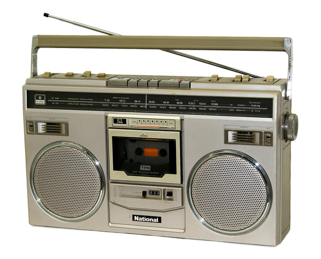National ナショナル RX-5100 DISCO X FM(Wide)/AMステレオラジオカセット
