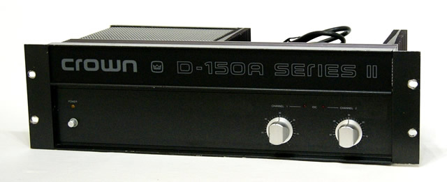 CROWN クラウン D-150A SERIESII D-150A SERIES(2) ステレオパワーアンプ